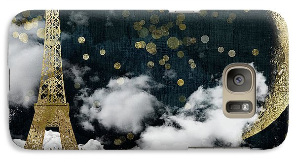 Cloud Cities Paris Galaxy Case by Mindy Sommers