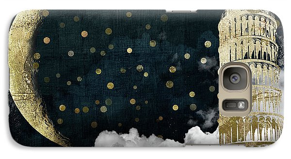 Cloud Cities Pisa Italy Galaxy S7 Case by Mindy Sommers