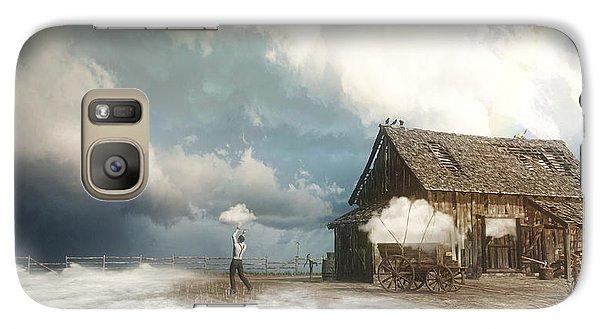 Finch Galaxy S7 Case - Cloud Farm by Cynthia Decker