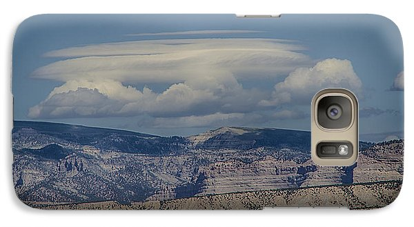 Galaxy Case featuring the photograph Cloud On Route 6 by R Thomas Berner