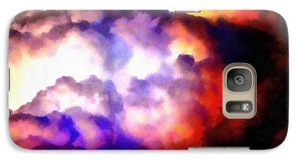 Cloud Sculpting 1 Galaxy S7 Case