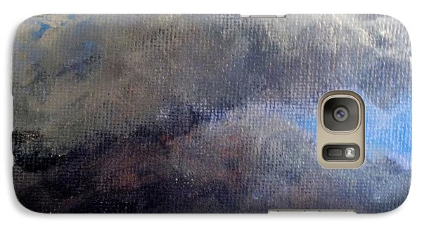 Galaxy Case featuring the painting Cloud Study #2 by Jessica Tookey