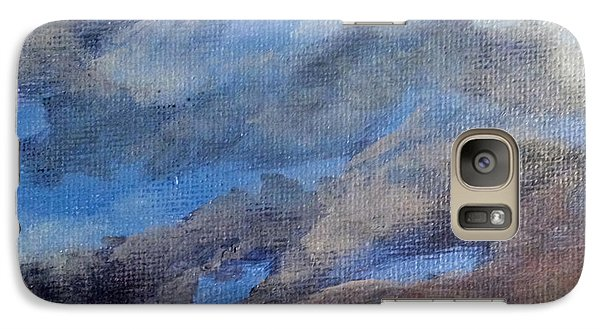 Galaxy Case featuring the painting Cloud Study #3 by Jessica Tookey
