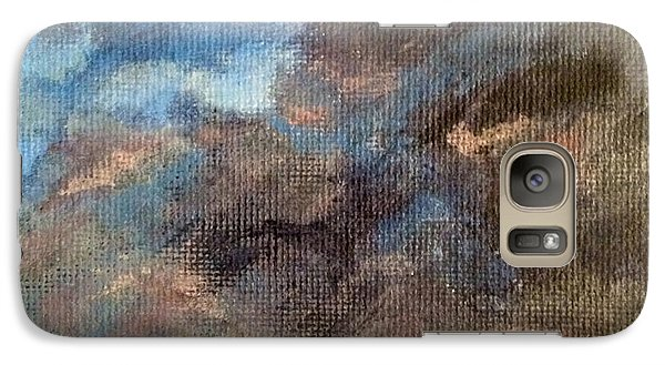 Galaxy Case featuring the painting Cloud Study #4 by Jessica Tookey