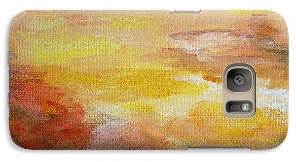 Galaxy Case featuring the painting Cloud Study #7 by Jessica Tookey