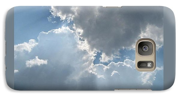 Galaxy Case featuring the photograph Clouds 1 by Barbara Yearty