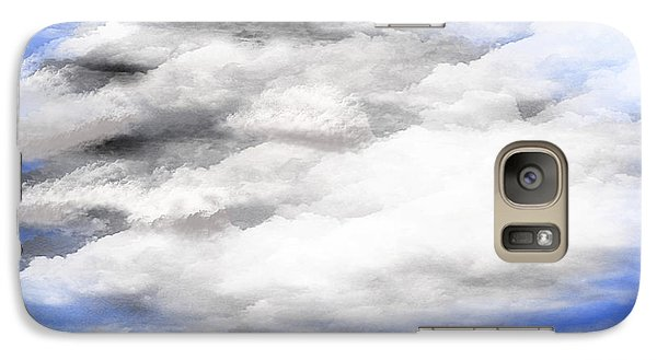 Galaxy Case featuring the digital art Clouds 2 by Walter Chamberlain