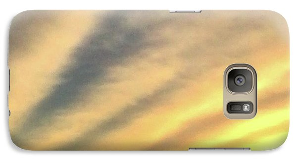 Galaxy Case featuring the photograph Clouds And Sun by Sumoflam Photography
