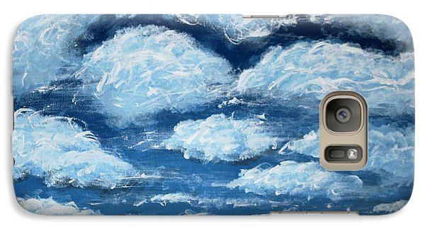 Galaxy Case featuring the painting Clouds by Antonio Romero