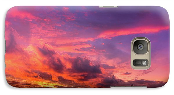 Clouds At Sunset Galaxy S7 Case
