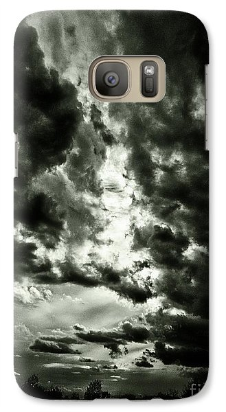Galaxy Case featuring the photograph Clouds by Gary Bridger