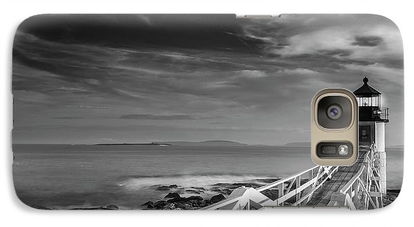 Galaxy Case featuring the photograph Clouds Over Marshall Point Lighthouse In Maine by Ranjay Mitra