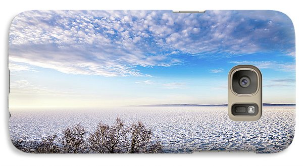 Galaxy Case featuring the photograph Clouds Over The Bay by Onyonet  Photo Studios