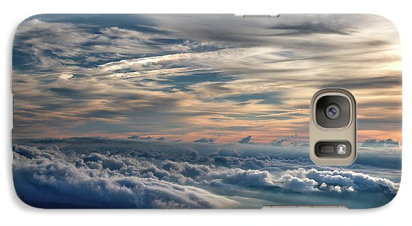 Galaxy Case featuring the photograph Clouds Over The Smoky's by Douglas Stucky