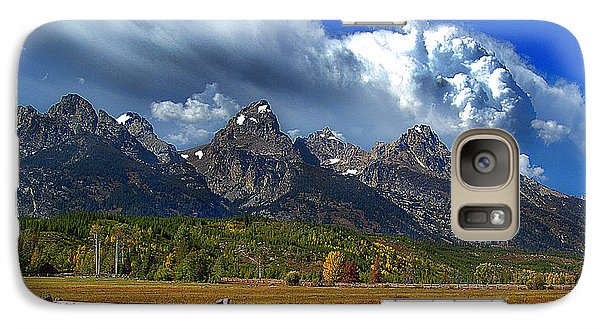 Galaxy Case featuring the photograph Clouds Rising by Diane E Berry