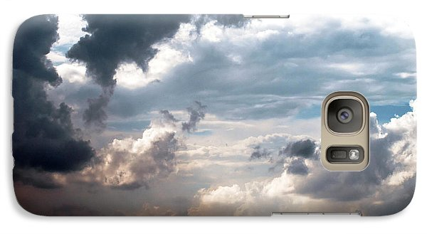 Galaxy Case featuring the photograph Cloudscape ... Nine by Tom Druin