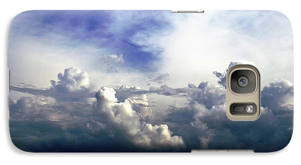 Galaxy Case featuring the photograph Cloudscape Fourteen by Tom Druin