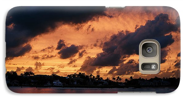 Galaxy Case featuring the photograph Cloudscape by Laura Fasulo