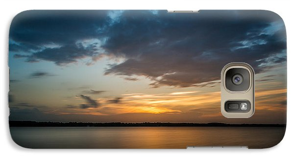 Cloudy Lake Sunset Galaxy S7 Case