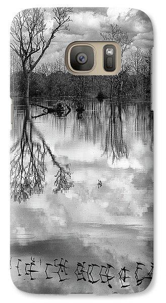 Cloudy Reflection Galaxy S7 Case by Hitendra SINKAR