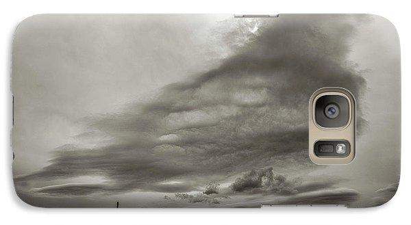 Galaxy S7 Case featuring the photograph Cloudy Sky, Karakorum, 2016 by Hitendra SINKAR