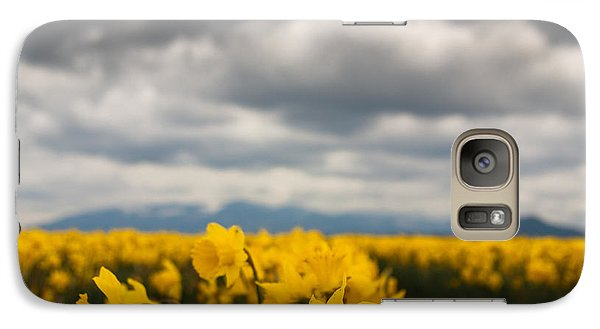 Galaxy Case featuring the photograph Cloudy With A Chance Of Daffodils by Erin Kohlenberg