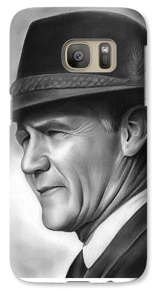 Coach Tom Landry Galaxy S7 Case by Greg Joens