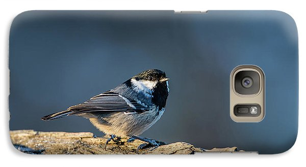 Galaxy Case featuring the photograph Coal Tit's Colors by Torbjorn Swenelius