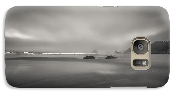 Galaxy Case featuring the photograph Coastal Mist by Don Schwartz