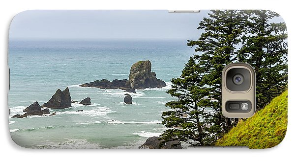 Galaxy Case featuring the photograph Coastal Scene by Jerry Cahill