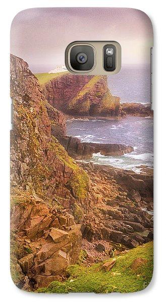 Galaxy Case featuring the photograph Coastal Walks IIi by Maciej Markiewicz