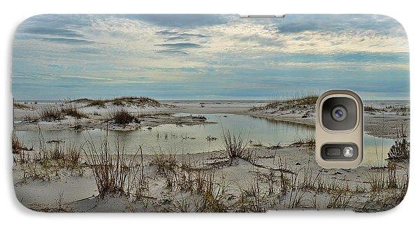 Galaxy Case featuring the photograph Coastland Wetland by Renee Hardison
