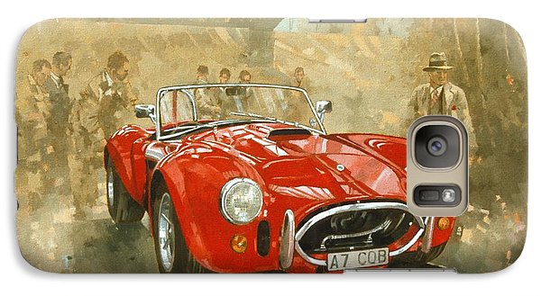 Car Galaxy S7 Case - Cobra At Brooklands by Peter Miller