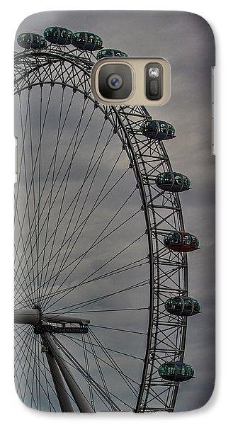 Coca Cola London Eye Galaxy S7 Case by Martin Newman