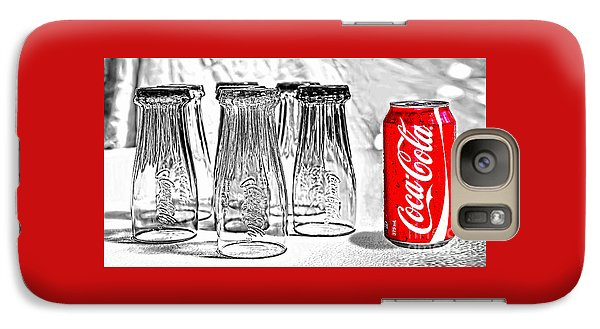 Coca-cola Ready To Drink By Kaye Menner Galaxy S7 Case