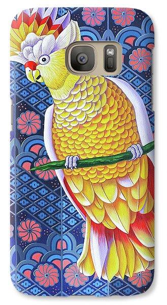 Cockatoo Galaxy S7 Case by Jane Tattersfield
