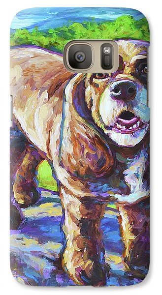 Galaxy Case featuring the painting Cocker Spaniel  by Robert Phelps