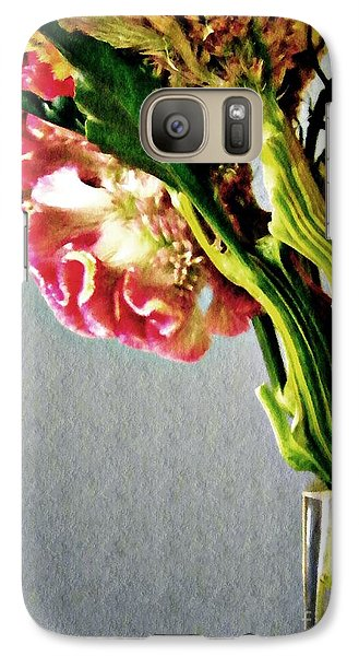 Galaxy Case featuring the photograph Cockscomb Bouquet 5 by Sarah Loft