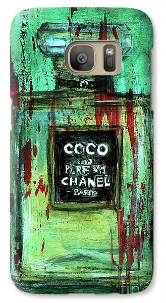 Galaxy Case featuring the painting Coco Potion by P J Lewis