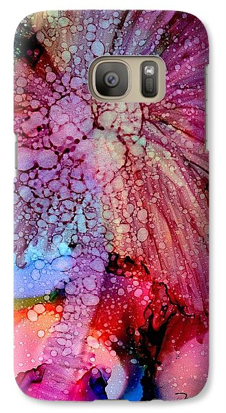 Galaxy Case featuring the painting Coconut Palm Tree 4 by Marionette Taboniar