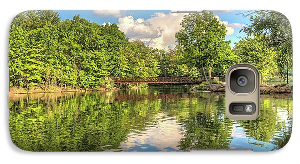 Galaxy Case featuring the photograph Coe Lake by Brent Durken