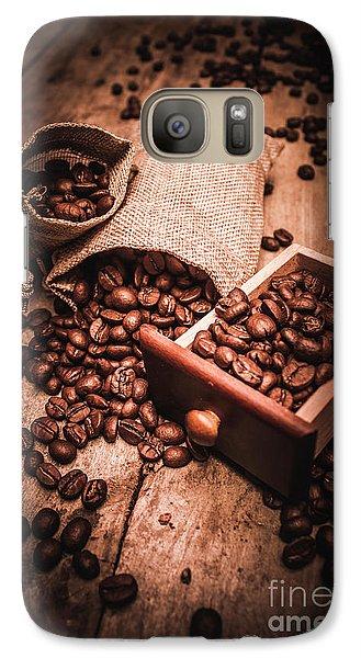 Coffee Bean Art Galaxy S7 Case
