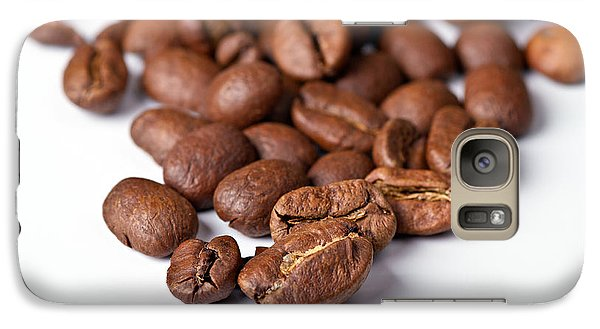 Galaxy Case featuring the photograph Coffee Beans by Gert Lavsen
