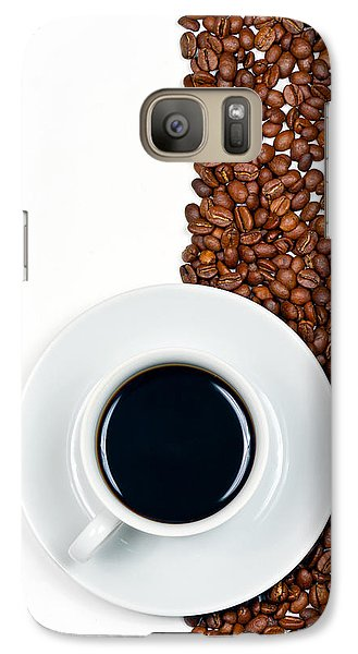 Galaxy Case featuring the photograph Coffee by Gert Lavsen