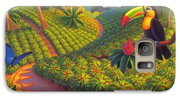 Coffee Plantation Galaxy S7 Case by Robin Moline