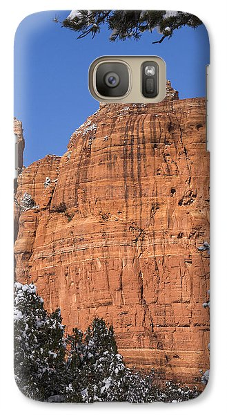Galaxy Case featuring the photograph Coffee Pot Rock by Laura Pratt