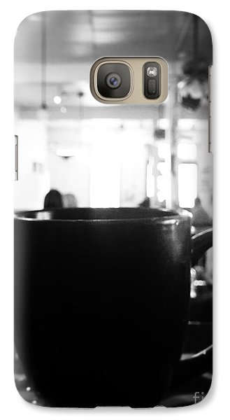 Galaxy Case featuring the photograph Coffee Shop by Utopia Concepts