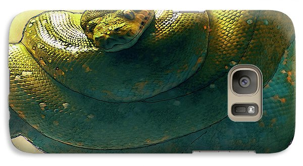 Coiled Galaxy Case by Jack Zulli