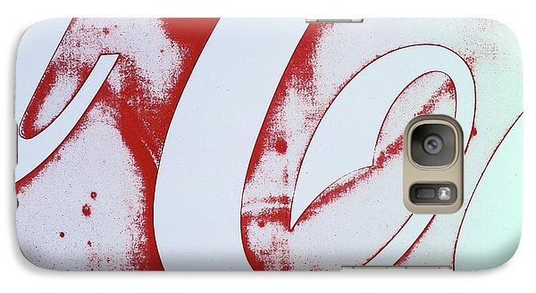 Galaxy Case featuring the photograph Coke 3 by Laurie Stewart