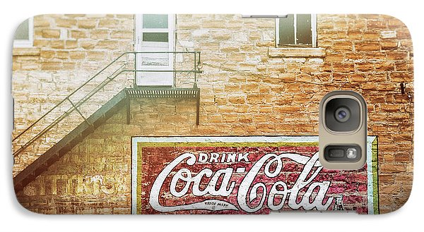 Galaxy Case featuring the photograph Coke Classic by Darren White